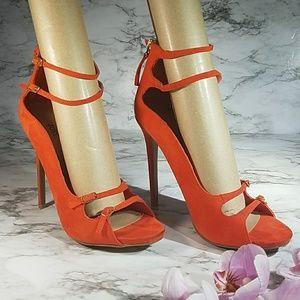 JustFab Marceliana Strappy Heels